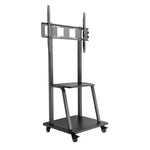 "Ultra-Heavy Duty Steel Mobile TV Cart For 37~100"" T1035M (2Box/Kit)"