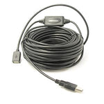 80Ft USB2.0 Active Extension/Repeater A-Male/Female