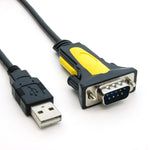 USB to RS232 Serial Adapter DB9-Male/ Thumbscrew, Prolific Chipset - EAGLEG.COM
