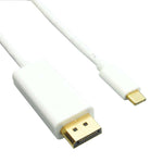 3Ft USB Type C to DisplayPort Male Cable 4K 60Hz - EWAAY.COM