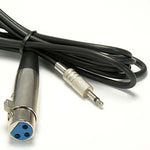 XLR Female to 3.5mmm Mono Male Cable - EWAAY.COM