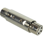 XLR Female/Female Barrel Coupler - EWAAY.COM