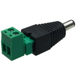 DC Plug 2.1 / 5.5mm To Removable Terminal Block - EWAAY.COM