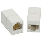 Cat5E RJ45 Inline Coupler White - EAGLEG.COM