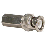 RG6 BNC Male Twist-on Connector, 10 Pack - EWAAY.COM