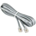 25Ft RJ11 Modular telephone Cable Straight - EWAAY.COM