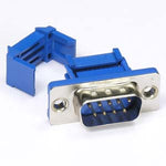DB9 Male IDC Metal Shell Connector - EWAAY.COM