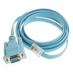 6Ft Cisco Console Cable DB9 Female to RJ45 Male 72-3383-01 - EWAAY.COM