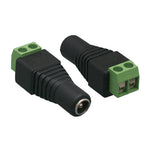 DC Plug Power Female 2.1 / 5.5mm to Terminal Block Adapter