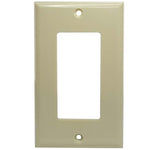 Single Gang Decora Wall Plate Beige - EAGLEG.COM