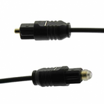 6Ft Toslink/Toslink 2.2mm Digital Audio Cable