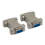 DB9 F/F Null Modem Adapter
