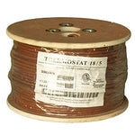 500Ft 18/5 Unshielded CMR Thermostat Cable Solid Copper PVC