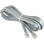 14Ft RJ12 Modular Cable Straight - EAGLEG.COM