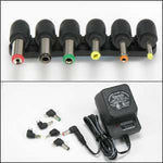 800mA Universal AC/DC adapter w/6 Plugs - EAGLEG.COM