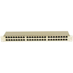 Cat.5E 1U 48Port Shielded Patch Panel