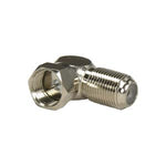 F-Type Right Angle Screw-on Plug Adapter - EWAAY.COM