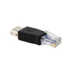 USB Female to RJ45 Ethernet Male Adapter - EAGLEG.COM