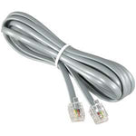 7Ft RJ11 (4C) Modular Telephone Cable Straight - EAGLEG.COM
