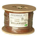 500Ft 18/4 Unshielded CMR Thermostat Cable Solid Copper PVC - EWAAY.COM