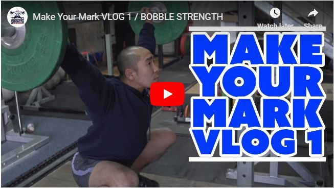 Make Your Mark VLOG 1 - Does Ken even lift bro?