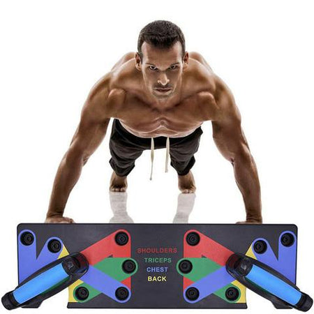 9 in 1 Push Up Rack Training Board - Bobble Strength