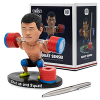 Squat Sensei Bobblehead Pen Holder - Bobble Strength