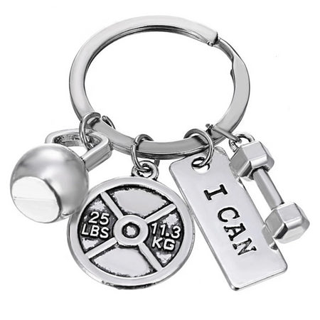 I Can - Motivational Fitness Keychains - Bobble Strength