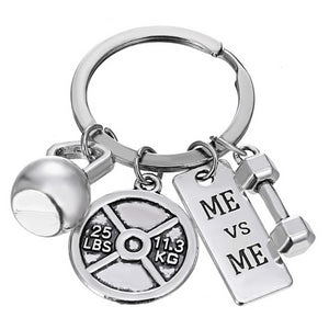 Me VS Me - Motivational Fitness Keychains - Bobble Strength