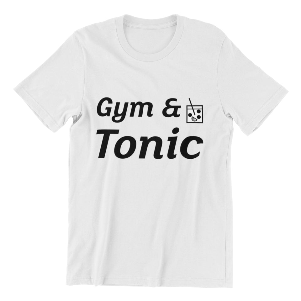 Gym & Tonic - Tee - Bobble Strength