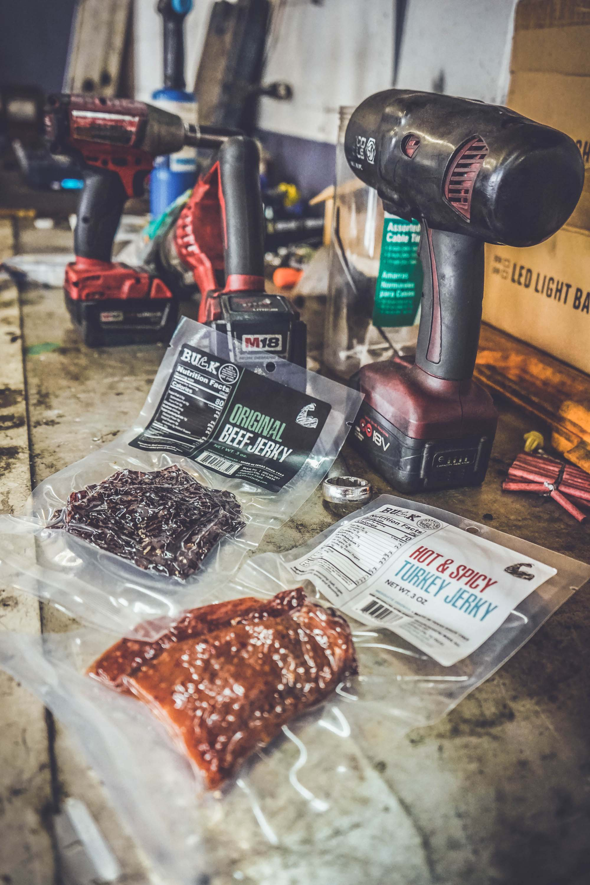 Texas Style Mobile Tool Dealer & Mechanic Beef Jerky