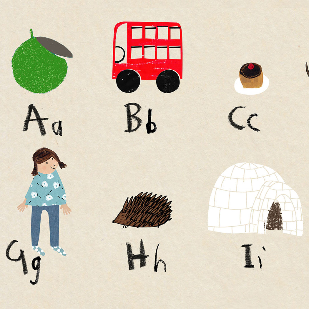 personalised - phonic alphabet poster