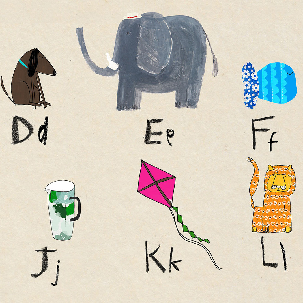 "personalised - phonic alphabet poster 24"" x 32"""