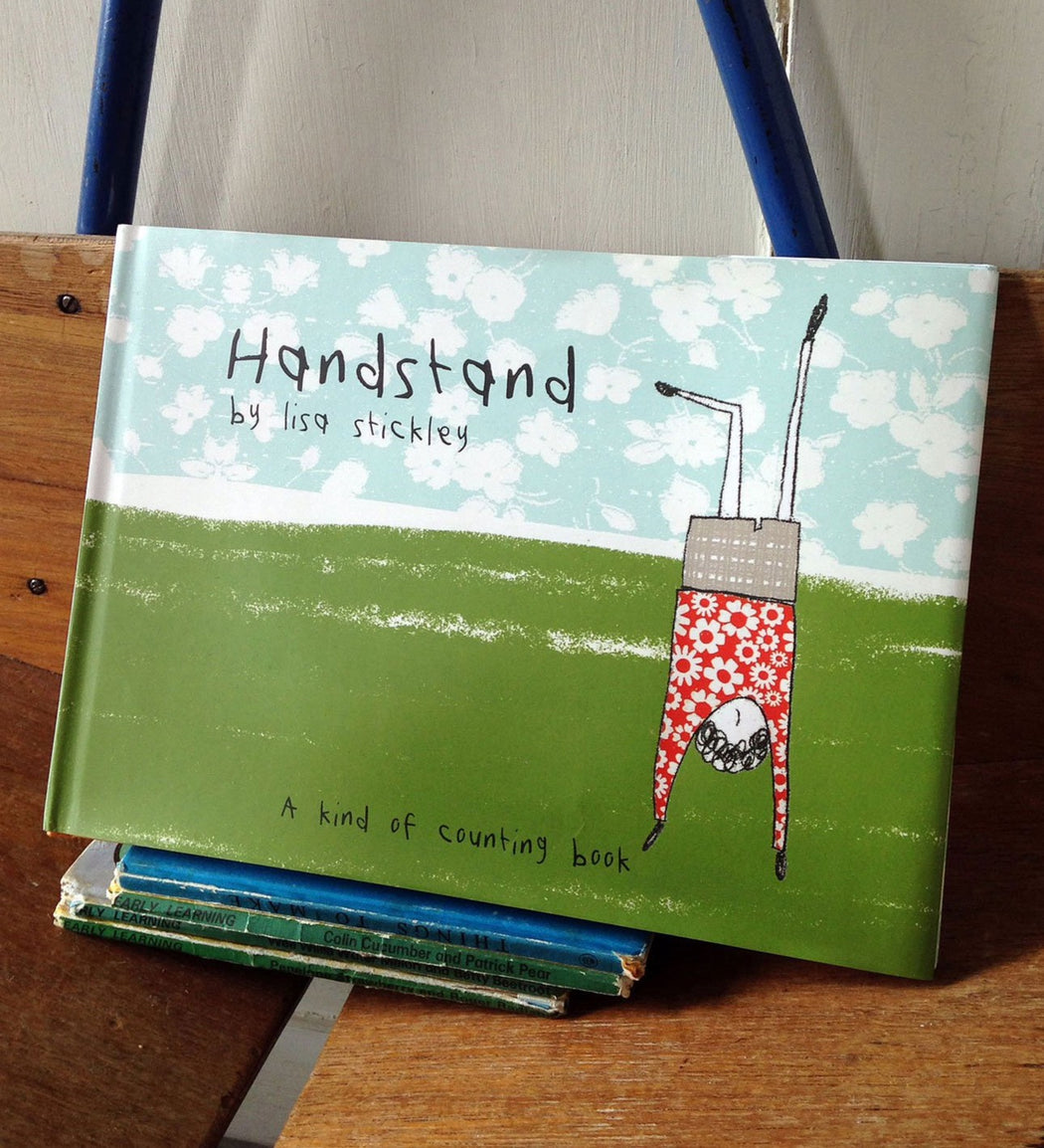 handstand, signed copy