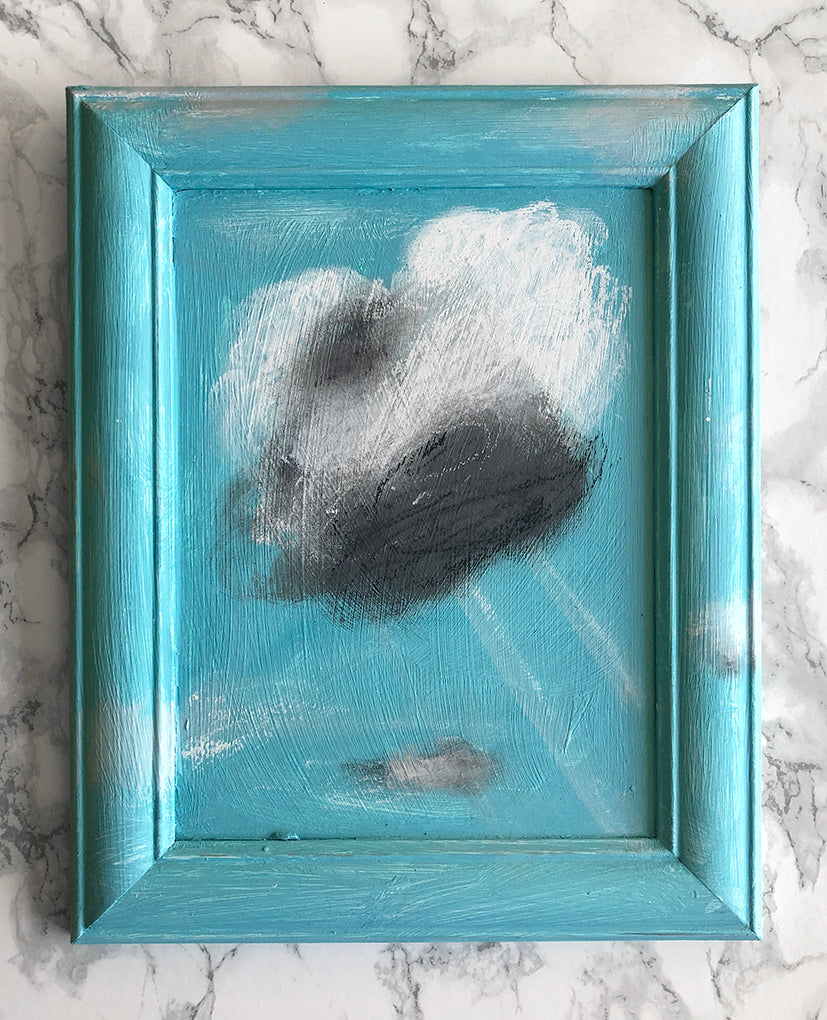 cloud painting 'marshmallow fluff'