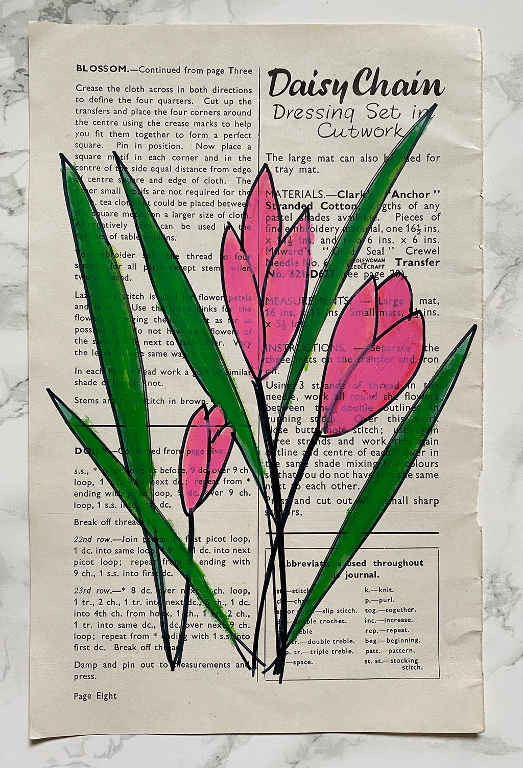 flower drawing - tulip