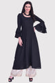 Sloppins Black Anarkali