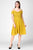 Sloppins Mustard Cold Sleeves Dress - Sloppins Fashion