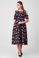 Sloppins Flamingo Print Dress - Sloppins Fashion