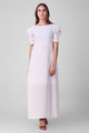Sloppins White Maxi