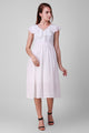 Sloppins White Ruffle Dress