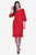 Sloppins Red Bodycon - Sloppins Fashion