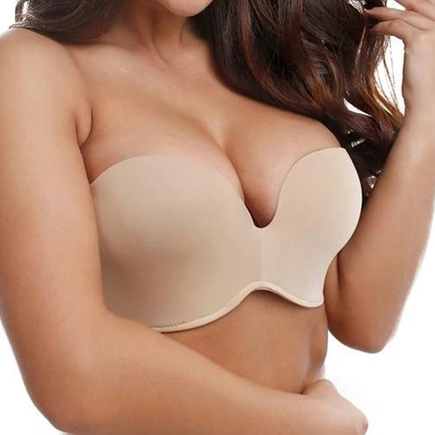 Silicone Strapless Seamless Lift - Plus Size Bra Boutique - Dr. Canine's