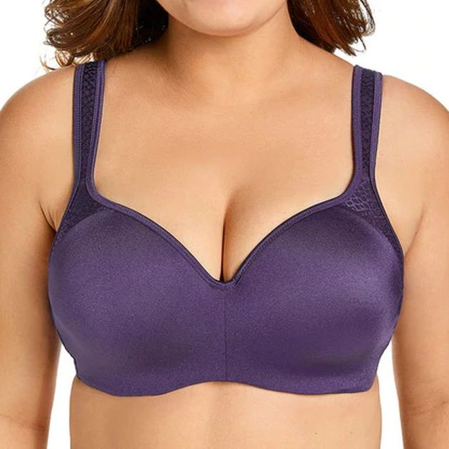 Lightly Padded Seamless Balconette Bra - Plus Size Bra Boutique - Dr. Canine's