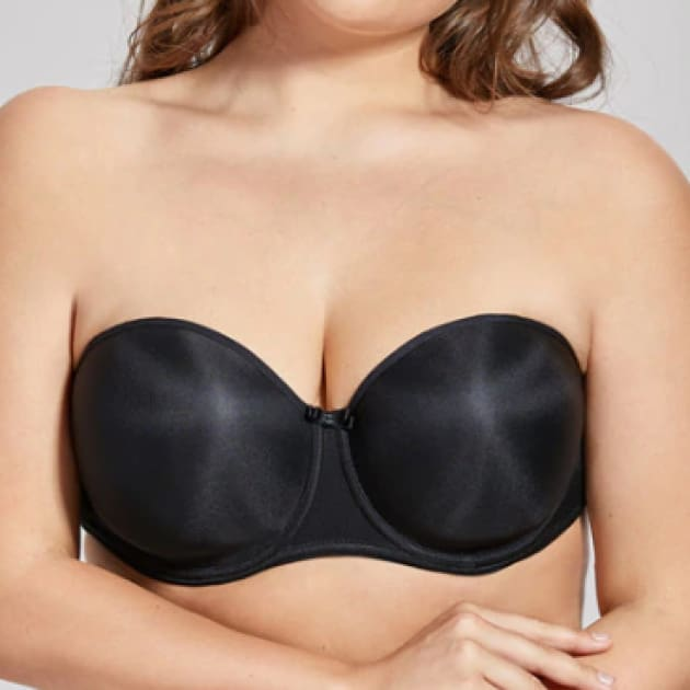 Full Figure Seamless Lined Multiway Strapless Bra - Plus Size Bra