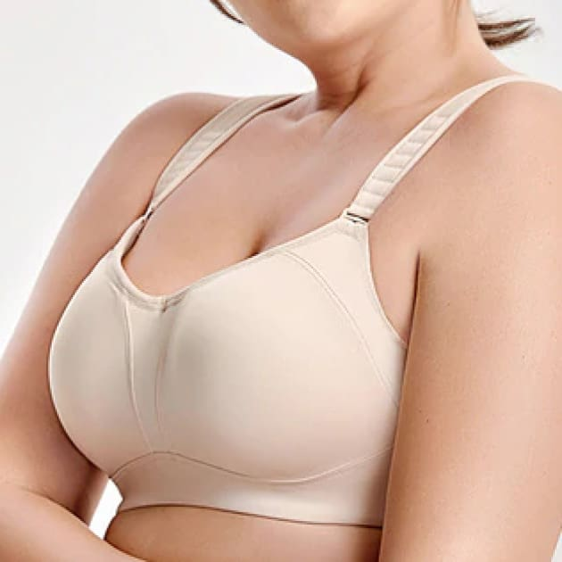 High Impact Bounce Control Sports Bra - Plus Size Bras - Bounce Control Full Cup High Impact Padded Seamless