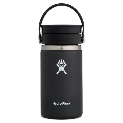 Hydro Flask 12oz / 345ml Wide Mouth Flex Sip - Black