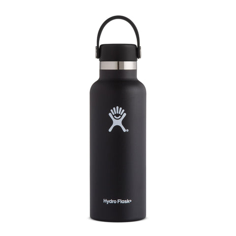 Hydro Flask 18oz / 532mL Standard Mouth Bottle - Black
