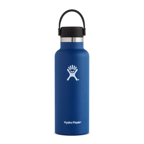 Hydro Flask 18oz / 532mL Standard Mouth Bottle - Cobalt