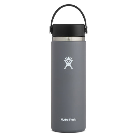 Hydro Flask 20OZ/710ML Wide Mouth 2.0 Bottle - Stone